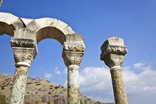 Free Ancient Greek Pillars Stock Photography - 8332732