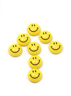 Free Symbol Of The Boom Made Of Yellow Smileys Royalty Free Stock Image - 8332956