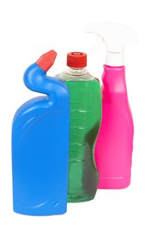 Free Variety Of Cleaning Products Royalty Free Stock Image - 8332996