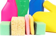 Free Variety Of Cleaning Products Stock Image - 8333231