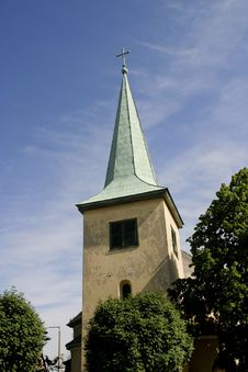 Free Church Tower Royalty Free Stock Image - 8333736