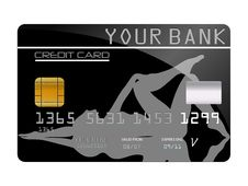 Free Credit Card For Your Bank Stock Photography - 8334012