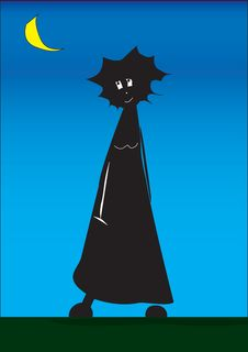 Free Dark Woman Royalty Free Stock Image - 8334676