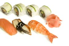 Free Assortment Of Sushi Stock Photo - 8334880