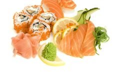 Free Assortment Of Sushi Stock Photos - 8334913