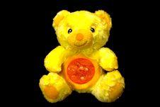 Sun Teddy Bear Stock Photography