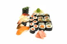 Free Assortment Of Sushi Stock Photo - 8334930