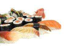 Free Assortment Of Sushi Stock Image - 8334961