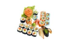 Free Assortment Of Sushi Stock Photography - 8334962
