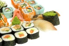 Free Assortment Of Sushi Stock Photos - 8334983