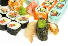 Free Assortment Of Sushi Royalty Free Stock Photos - 8335028
