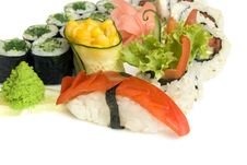 Free Assortment Of Sushi Stock Image - 8335111