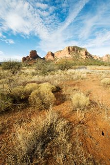 Free Red Rock Country Royalty Free Stock Photo - 8335665