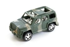 Free Toy Military Vehicle Stock Photos - 8335773