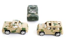 Free Toy Military Vehicles Royalty Free Stock Photography - 8335777
