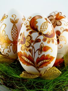 Free Easter Eggs Royalty Free Stock Photos - 8336978