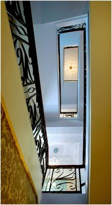 Free Stairs In The House Royalty Free Stock Photos - 8337298