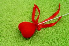 Free Red Soft Heart Stock Images - 8337364