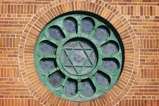 Free Star Of David On Side Of Building Stock Photos - 8337443
