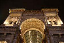 Free Galleria Vittorio Emanuele Royalty Free Stock Images - 8337479