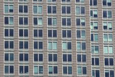 Free Window Pattern From Highrise Royalty Free Stock Image - 8337486