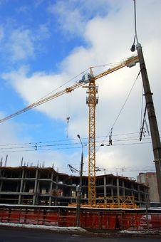 Free Hoisting Crane Stock Images - 8337834