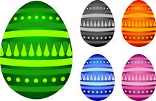 Free Easter Eggs Royalty Free Stock Photo - 8337845