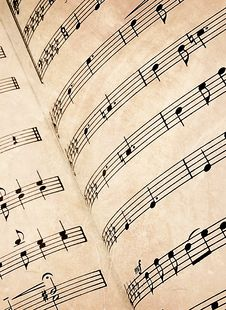 Free Sheet Music Stock Photo - 8337860