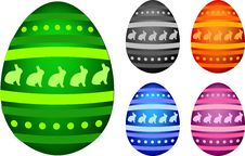 Free Easter Eggs Stock Photography - 8337942