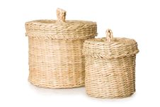 Free Wicker Basket Stock Images - 8337994