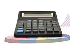 Free Calculator And Graphs Stock Photos - 8338523
