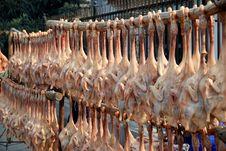 Free Jiu Chi Town, China:  Dried Pressed Ducks Royalty Free Stock Images - 8338549