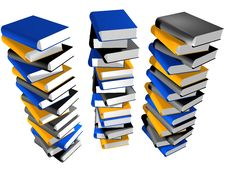 Free Lots Of Books Royalty Free Stock Images - 8338789