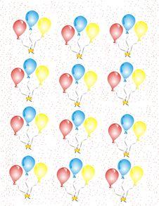 Free Balloons Celebration Royalty Free Stock Image - 8339076