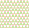 Free Spring Hexagonal Seamless Pattern Royalty Free Stock Photography - 8340287