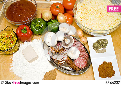 Free Tasty Ingredients Royalty Free Stock Photography - 8346237