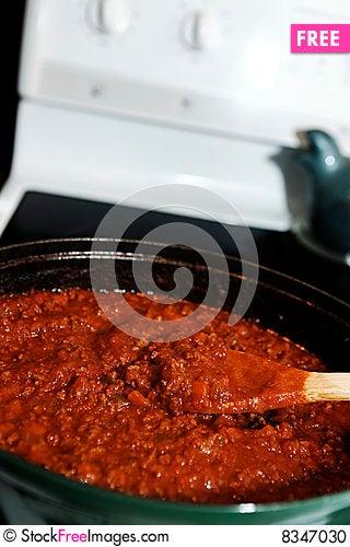 Free Stove And Sauce Stock Photo - 8347030