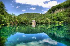 Free Blue Lake Royalty Free Stock Image - 8340036