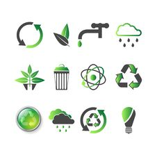 Free Environmental Icons Stock Image - 8340701