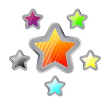 Free Colorful Stars Stock Images - 8340824