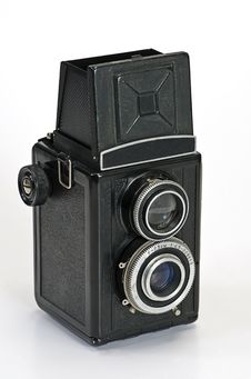 Free Old Photo Camera Royalty Free Stock Images - 8341139