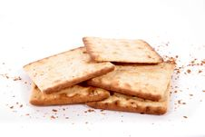 Free Crackers. Royalty Free Stock Photography - 8341277