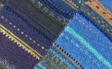 Free Woolen Texture From The Threads Of Many Colors. Stock Photos - 8341293