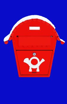 Free Red Post Box Stock Photo - 8341310