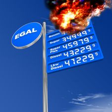 Free Gasoline Royalty Free Stock Image - 8341646