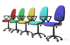 Free Color Office Armchair Royalty Free Stock Image - 8341886