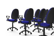 Free Chairs Rows Royalty Free Stock Image - 8341896