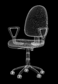 Free Office Armchair Structure Stock Images - 8341974