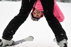Free Gril On Snow Stock Photo - 8342320