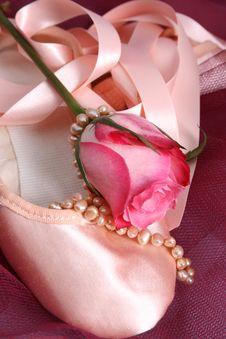 Free Ballet Shoe Royalty Free Stock Image - 8342536